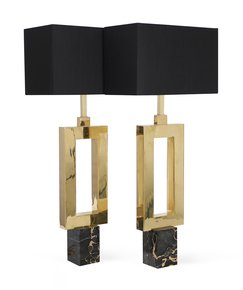 Mid-Century-Modern-Polished-Brass-Lamps-In-'o'-Shape-With-Portoro-Marble-Ba_Sergio-Jaeger_Treniq_0
