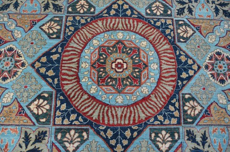 Blue mamluk nomadic rug  talam   khaadi treniq 1 1521016036818