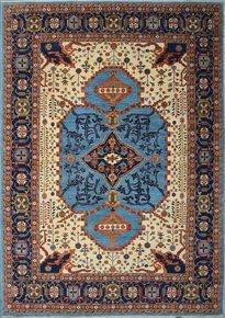 Tribal-Blue-Serapi-Nomadic-Rug_Talam-&-Khaadi_Treniq_0