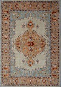 Tribal-Classic-Heriz/Serapi-Nomadic-Rug-_Talam-&-Khaadi_Treniq_0