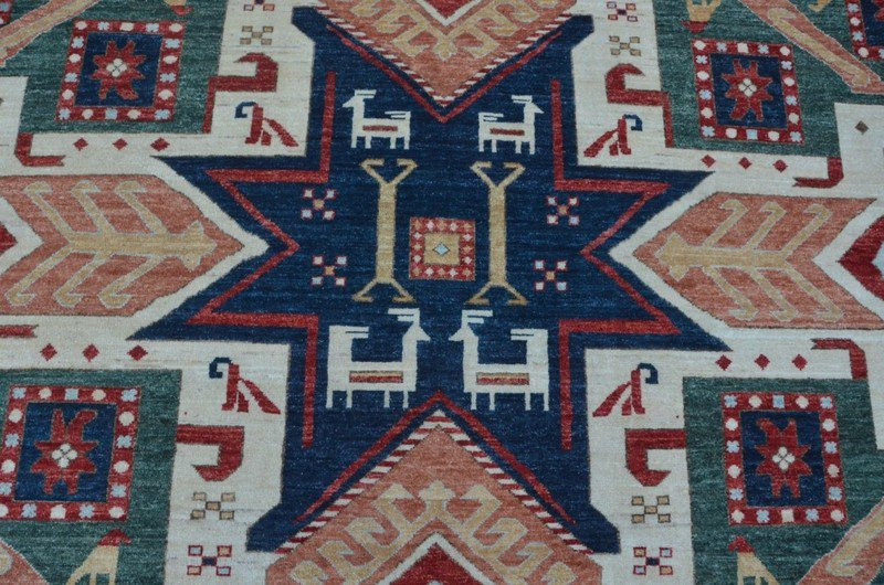 Tribal ivory geometric nomadic rug talam   khaadi treniq 1 1521026137617