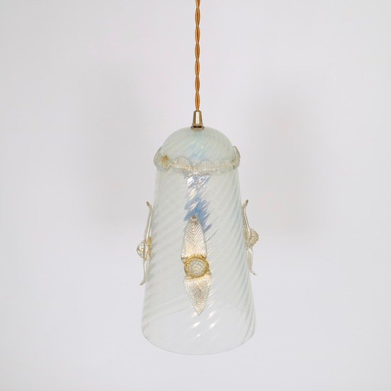 Murano opaline glass hanging pendant sergio jaeger treniq 1 1521048885838