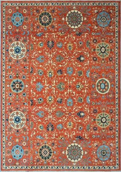 Rust suzani nomadic rug  talam   khaadi treniq 1 1521098286158
