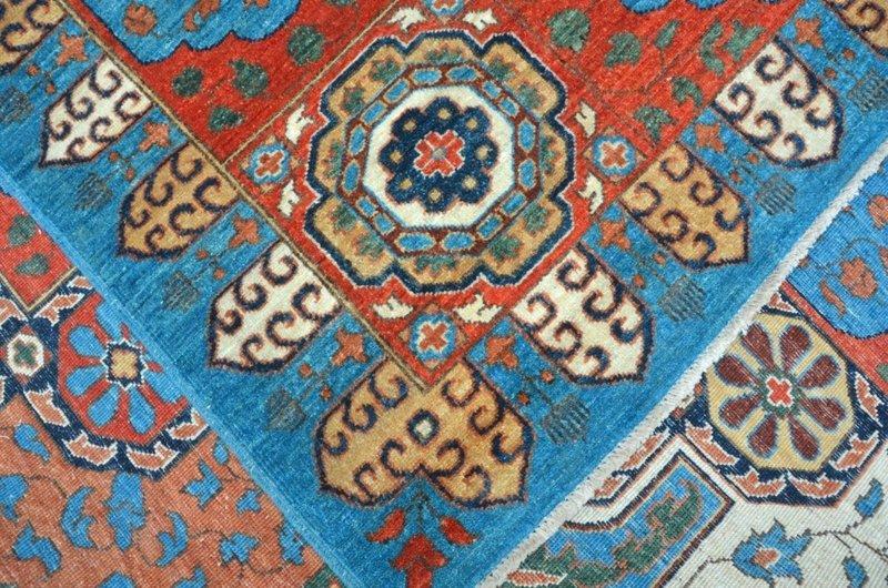 Blue mamluk nomadic rug  talam   khaadi treniq 1 1521100061719