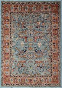 Tribal-Blue-Bijar-Nomadic-Rug_Talam-&-Khaadi_Treniq_0