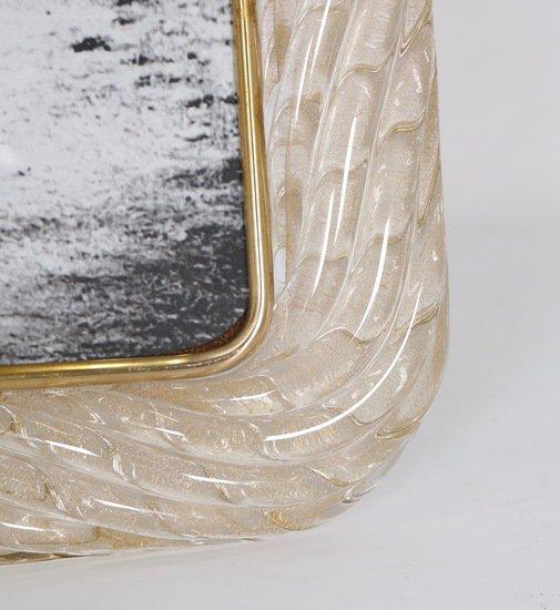 Venini torciglione murano glass frame with gold infusions sergio jaeger treniq 1 1521137443142