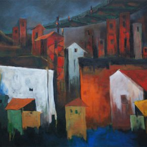 The Old City Painting