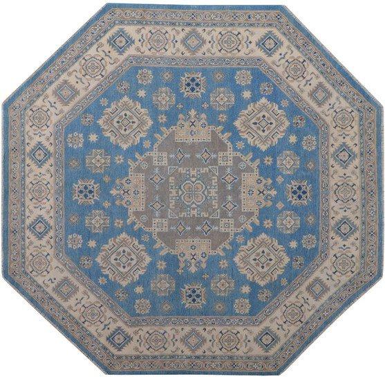 Geometric blue octagon rug talam   khaadi treniq 1 1521629594751