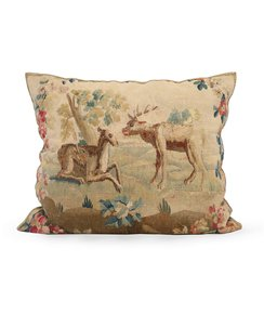 Flemish-17th-Century-Tapestry-Pillow-In-Cotton-And-Silk_Sergio-Jaeger_Treniq_0