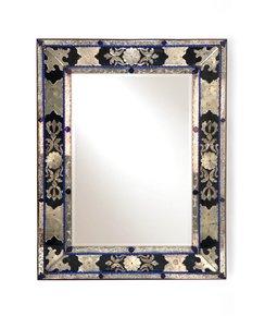 Antique-Venetian-Mirror-In-Blue,-Clear-And-Black-Murano-Glass_Sergio-Jaeger_Treniq_0