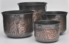 Dome-Embossed-Oil-Rubbed-Bronze-Planters_H.-M.-International_Treniq_0