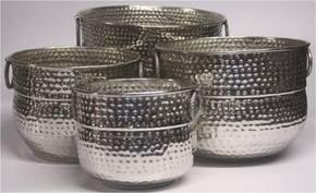 Hammered-Shiny-Silver-Planter_H.-M.-International_Treniq_0