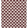 Maroon shards by ana   noush  contemporary handwoven wool rug ana   noush treniq 1 1521842324688