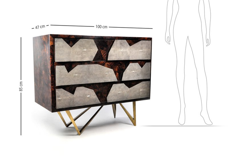 Ch reef sideboard ginger brown treniq 5