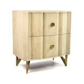BS Accordeon Bedside Table - Ginger Brown - Treniq