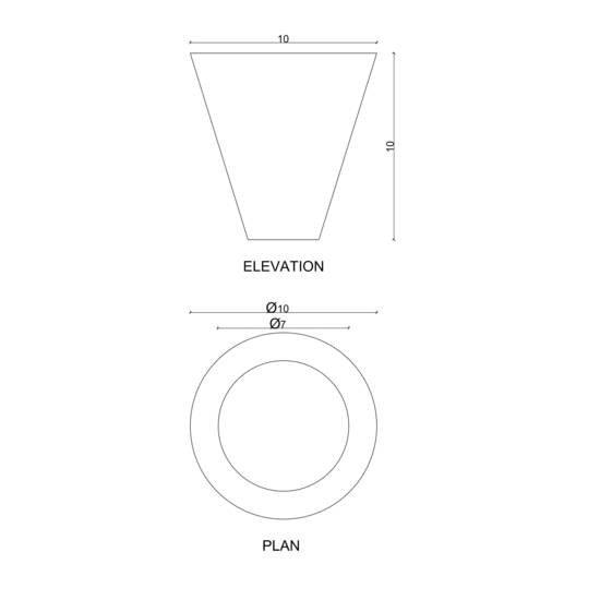 Cone candle karan desai design treniq 4 1522233474876