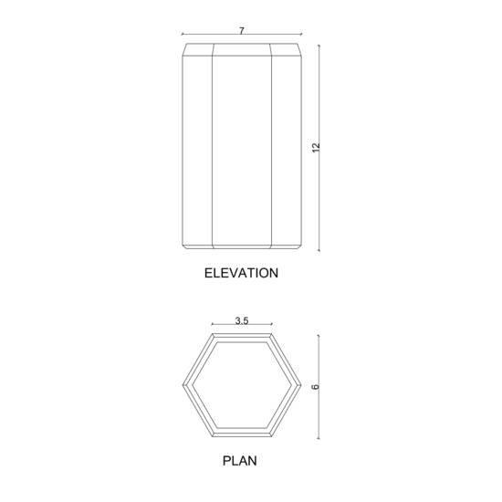 Concrete slim candle karan desai design treniq 3 1522233897539