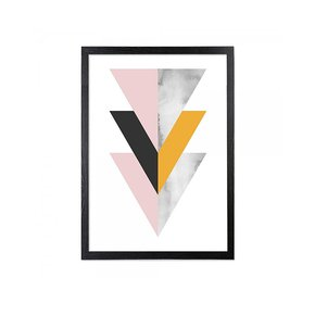 Framed-Art-Three-Triangles-Blush,-Mustard,-Marble_Cielshop_Treniq_0