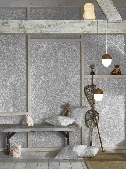 Hevensent forest dust dove grey wallpaper hevensent treniq 1 1522449647927
