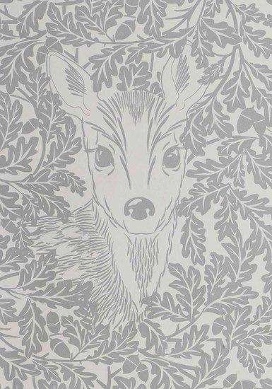 Hevensent forest dust dove grey wallpaper hevensent treniq 1 1522449698516