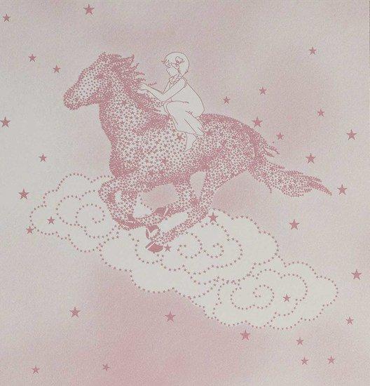 Hevensent popcorn dust dove pink wallpaper hevensent treniq 1 1522453317321