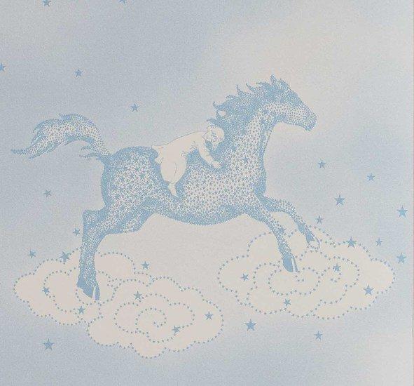 Hevensent popcorn dust dove blue wallpaper hevensent treniq 1 1522453740008
