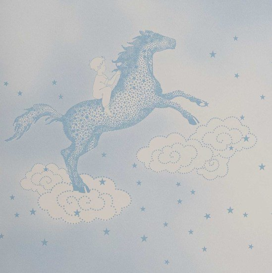 Hevensent popcorn dust dove blue wallpaper hevensent treniq 1 1522453739992