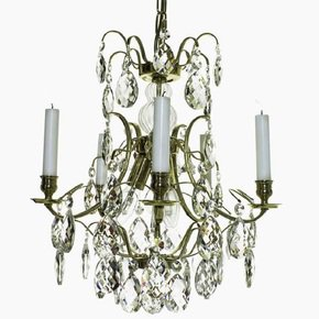 5-Arm-Crystal-Chandelier-In-Polished-Coloured-Brass_Gustavian-Style_Treniq_0