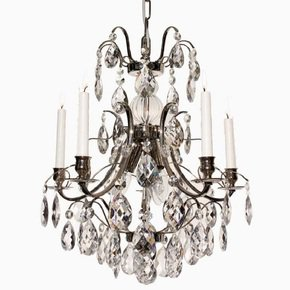 5-Arm-Crystal-Chandelier-In-Nickel-Plate_Gustavian-Style_Treniq_0