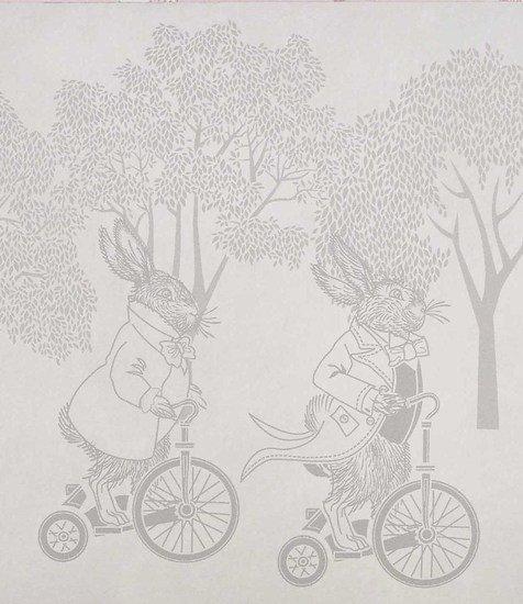 Hevensent racing rabbits border wallpaper hevensent treniq 1 1522496780285