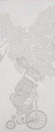Hevensent racing rabbits border wallpaper hevensent treniq 1 1522496780294