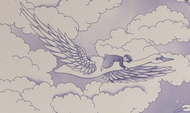 Hevensent swans wallpaper hevensent treniq 1 1522497642891