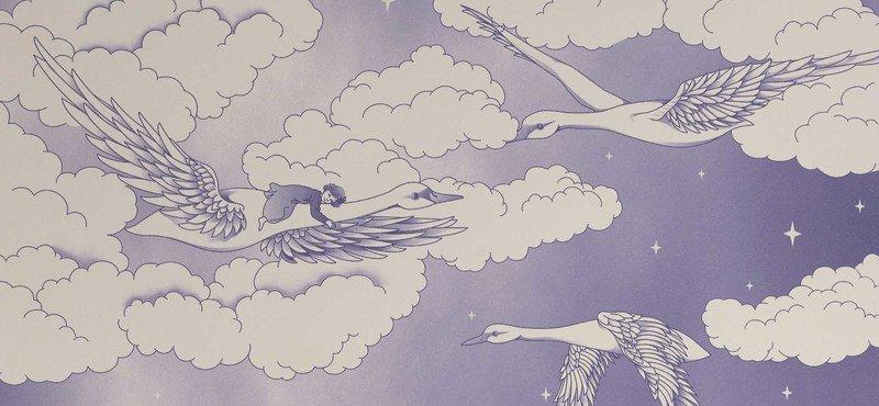 Hevensent swans wallpaper hevensent treniq 1 1522497642823