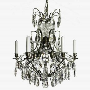 6-Arm-Crystal-Chandelier-In-Dark-Coloured-Brass_Gustavian-Style_Treniq_0