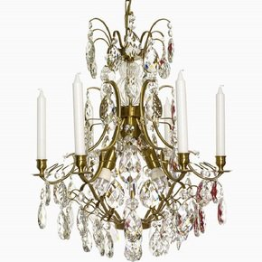 6-Arm-Crystal-Chandelier-In-Amber-Coloured-Brass_Gustavian-Style_Treniq_0