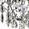 6 arm silver crystal chandelier in silver plated brass gustavian style treniq 1 1522522735244