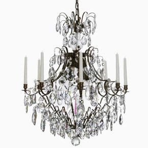 8-Arm-Crystal-Chandelier-In-Dark-Coloured-Brass_Gustavian-Style_Treniq_0