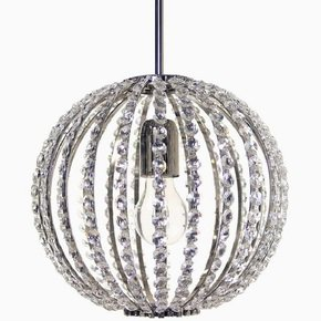 Spherical-Crystal-Chandelier-In-Nickel-Plated-Brass-With-Crystal-Octagons_Gustavian-Style_Treniq_0