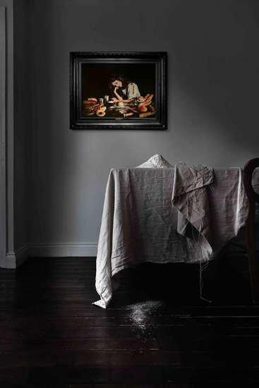 'white dress' printed canvas mineheart treniq 1 1522602954178