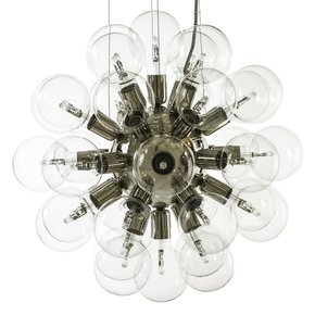 Modern-Glass-Chandelier-In-Nickel-Plated-Brass-With-34-Clear-Halogen-Bulbs_Gustavian-Style_Treniq_0