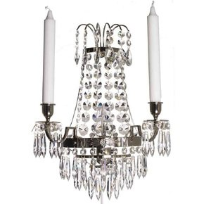 Empire-Style-Wall-Sconce-In-Nickel-Plated-Brass_Gustavian-Style_Treniq_0