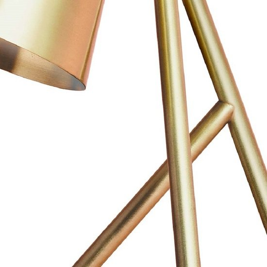 Table lamp brushed and lacquered brass gustavian style treniq 1 1522622543566
