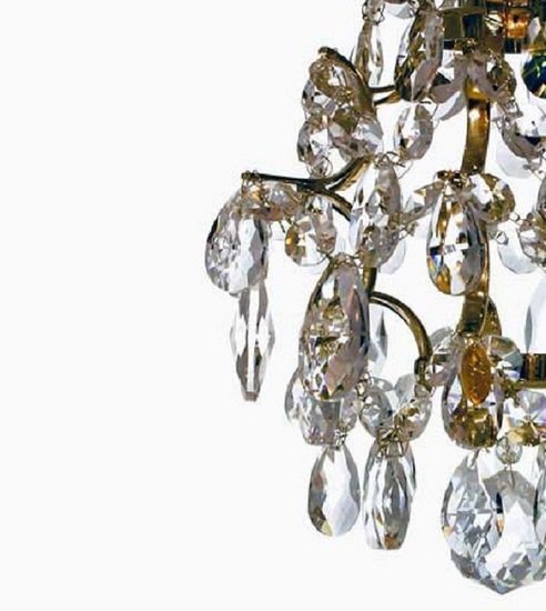Window light in polished brass and crystals gustavian style treniq 1 1522622667360
