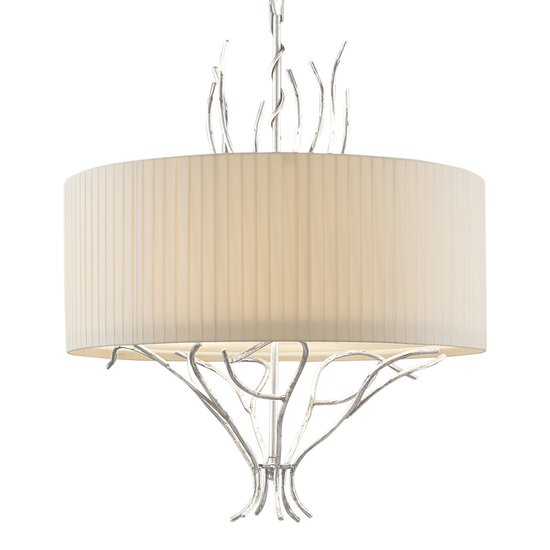 Florentine antique silver leaf lamp gustavian style treniq 1 1522666815210
