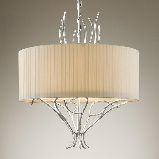 Florentine antique silver leaf lamp gustavian style treniq 1 1522666815446