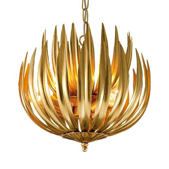 Florentine antique gold leaf artichoke light gustavian style treniq 1 1522667352088