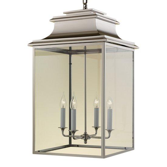 4 candle nickel lantern gustavian style treniq 1 1522668500290