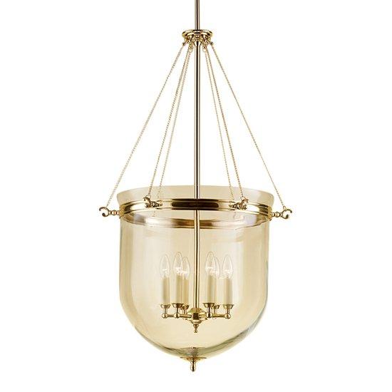 Brass lantern with glass gustavian style treniq 1 1522668655388