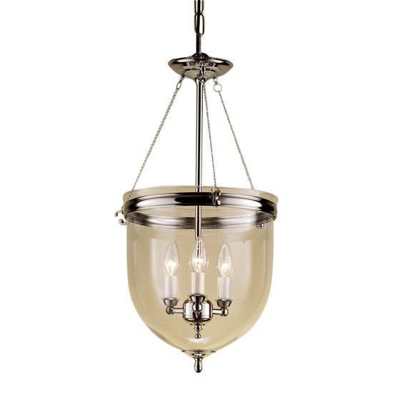 Polished nickel lantern with glass gustavian style treniq 1 1522668908324