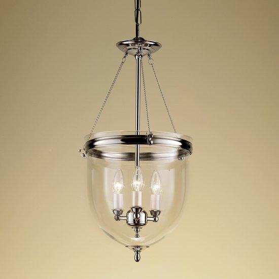 Polished nickel lantern with glass gustavian style treniq 1 1522668908370